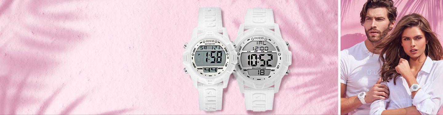 Guess Her And His Watch Sets Matching Watches