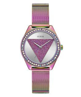 Purple Case Purple Stainless Steel/Mesh Watch  large