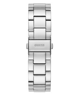 Silver Tone Case Silver Tone Stainless Steel Watch  large