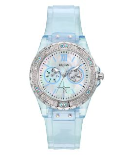 Blue Case Blue PU Watch  large