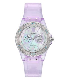 Purple Case Purple PU Watch  large