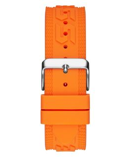 Orange Case Orange Silicone Watch  large