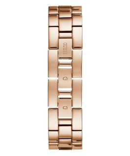 Rose Gold Tone Case Grey Resin Watch  large