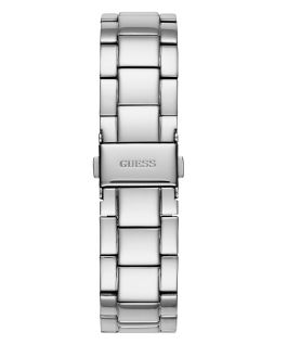 Ladies Silver Tone Case Silver Tone Stainless Steel Watch  large