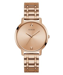 Rose Gold Tone Case Gold Tone Stainless Steel Watch  large
