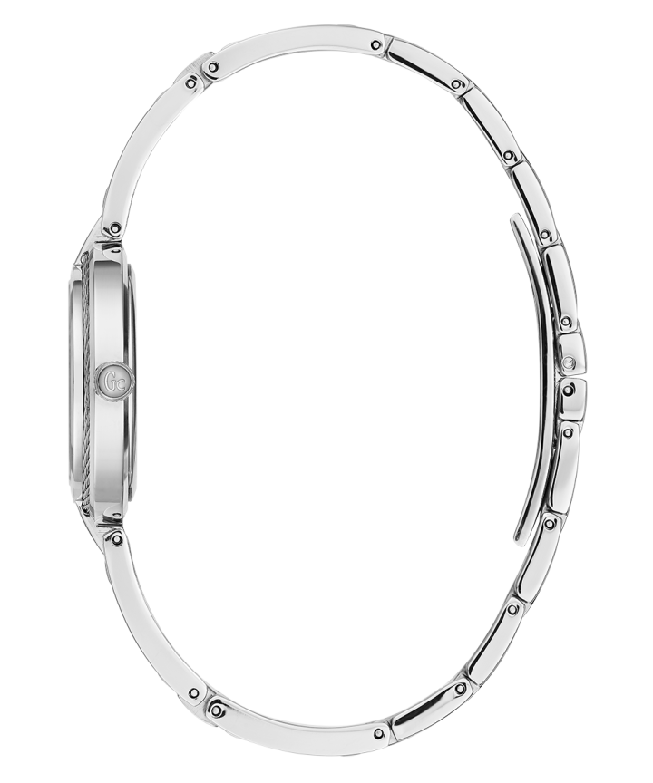 Silver Case Silver Stainless Steel Watch  large
