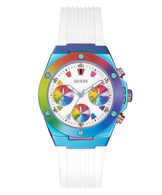 GUESS WORN WITH PRIDE TIE-DYE WATCH  large
