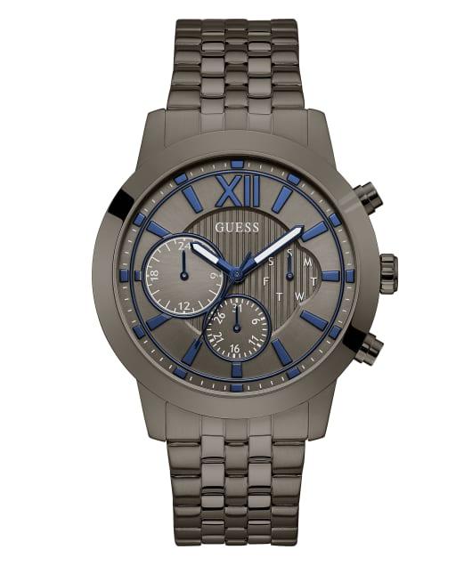 Gunmetal Case Gunmetal Stainless Steel Watch  large