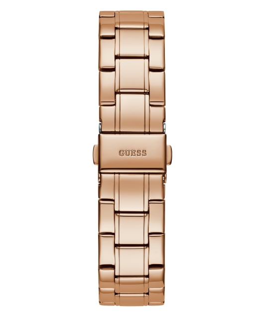 Rose Gold Tone Case Rose Gold Tone Stainless Steel Watch  large