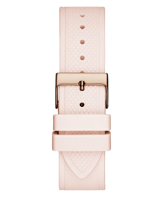 Pink Case Nude Silicone Watch  large