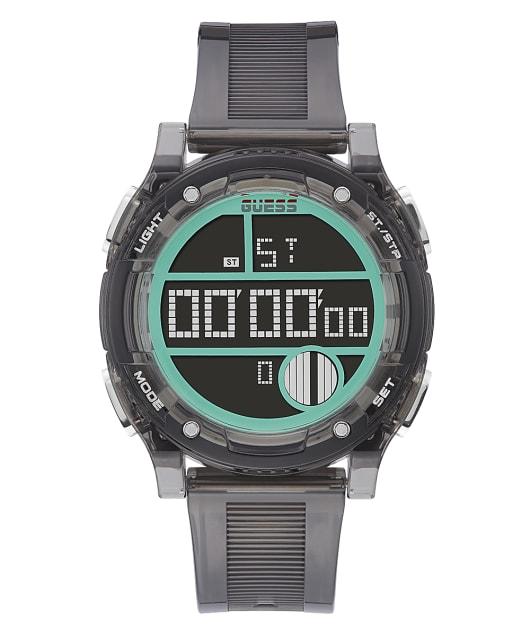 Grey Case Grey PU Watch  large