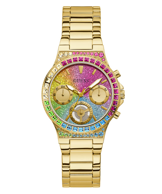 GUESS LOVE IS LOVE OMBRE PRIDE WATCH  large