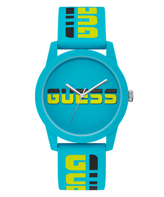 Case Turquoise Silicone Watch  large