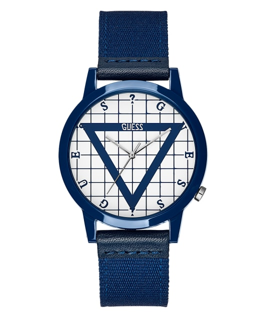 Blue Case Blue Nylon Watch  large