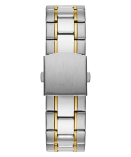 Silver Tone Case Silver Tone/Gold Tone Stainless Steel Watch  large