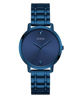 Blue Case Blue Stainless Steel Watch, , large