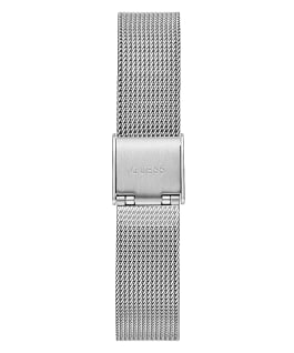 Silver Tone Case Silver Tone Stainless Steel/Mesh Watch, , large
