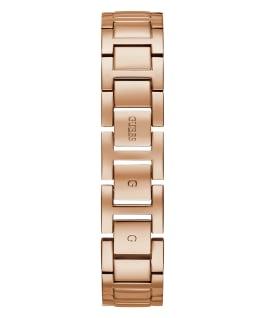 Rose Gold Tone Case Pink Resin Watch, , large