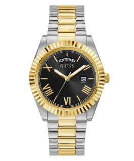 2-Tone Case 2-Tone Stainless Steel Watch  large