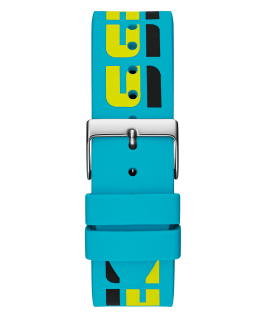 Case Turquoise Silicone Watch, , large
