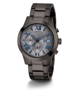 Gunmetal Case Gunmetal Stainless Steel Watch, , large