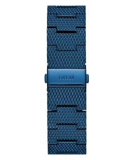 Blue Case Blue Stainless Steel Watch  large