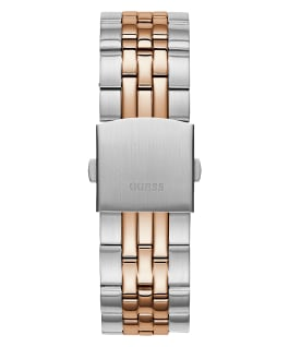 Silver Tone/Rose Gold Tone Case Silver Tone/Rose Gold Tone Stainless Steel Watch  large