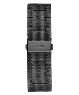 Black Case Black Stainless Steel/Mesh Watch  large