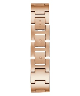 Rose Gold Tone Case Rose Gold Tone Mesh Watch  large