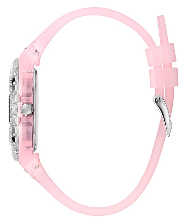 Pink Case Pink PU Watch  large