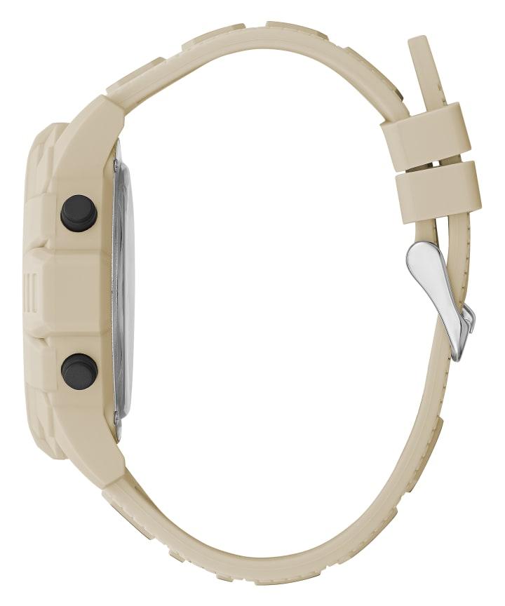 Ivory Tone Case Ivory Tone Silicone Watch  large