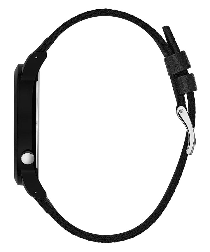 Black Case Black Nylon Watch  large